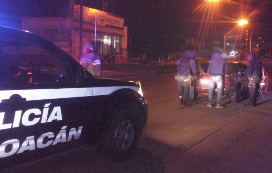 Operativo de la SSP Michoacán.