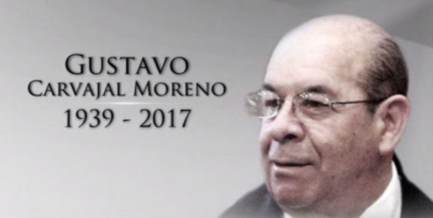 Gustavo Carvajal Moreno se desempeñó como secretario de la Reforma Agraria durante el Gobierno del presidente José López Portillo (Noticieros Televisa)