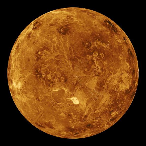 Vista de la superficie de Venus; el Museo de Historia Natural de la Ciudad de México invita a una velada para ver este planeta (Getty Images, archivo)