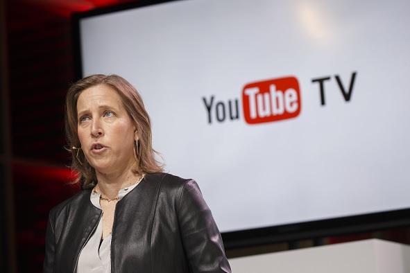 Susan Wojcicki, directora ejecutiva de YouTube Inc., presenta YouTube TV.