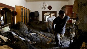 Temporal en Chile deja miles de afectados y cuantiosos daños materiales. (AP)