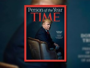"En diciembre, Time nombró a Donald Trump ""Persona del año"" (Archivo)"