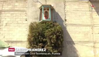 El predio quedó asegurado y con sellos de la Subprocuraduría Especializada en Investigación de Delincuencia Organizada. (Noticieros Televisa)