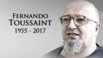 El músico mexicano Fernando Toussaint murió a los 60 años (Noticieros Televisa)