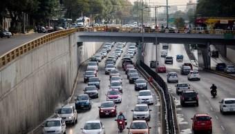 Vehículos en tránsito por la Ciudad de México.(Getty Images, archivo)