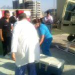 Traslado de corazon para trasplante en Nuevo León (Noticieros Televisa)