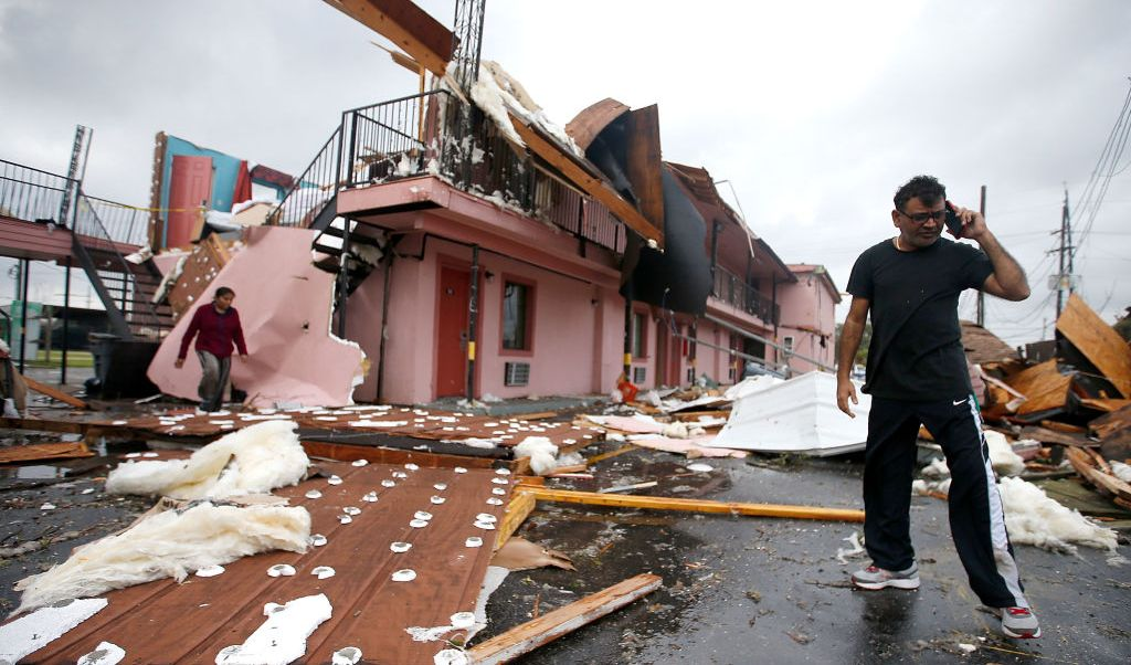 Tres tornados tocaron tierra en el sureste de Luisiana, Estados Unidos.