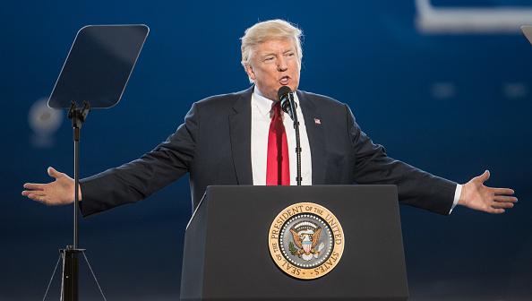 Trump indica que la amenaza del terrorismo debe ser confrontada y derrotada (Getty Images)