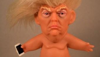 El escultor Chuck Williams planea la producción en masa de un muñeco 'troll' de Donald Trump (Facebook Chuck Williams)
