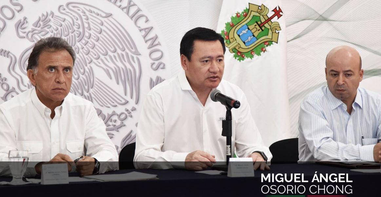 Osorio Chong aseguró que seguirá apoyando y respaldando toda acción que ayude a fortalecer a las instituciones policiacas locales (Twitter/@osoriochong)
