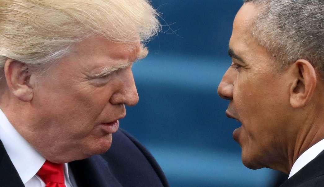 El expresidente estadounidense Barack Obama responde a Donald Trump que nunca ordenó grabar las conversaciones de ningún estadounidense. (Reuters/archivo)