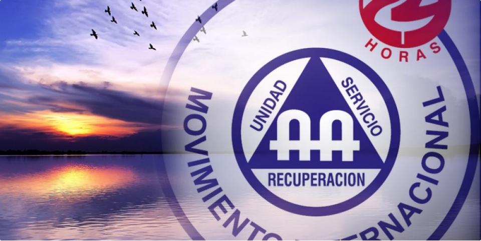 Logo del Movimiento 24 horas de Alcohólicos Anónimos; fallece Virgilio Andrade Palacios, fundador del grupo (aa24horas.com)