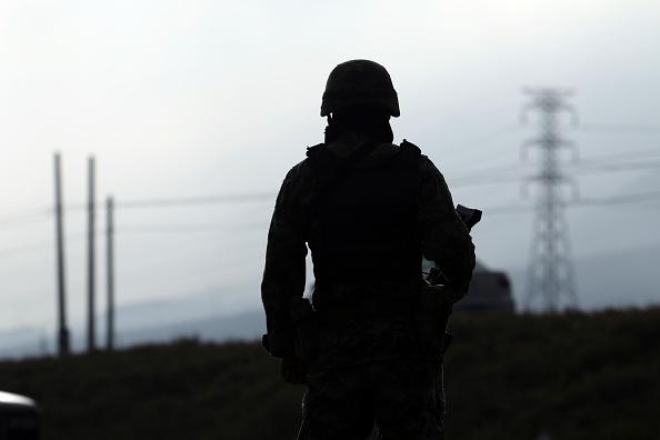 Soldado del Ejército mexicano. (Getty Images, archivo)