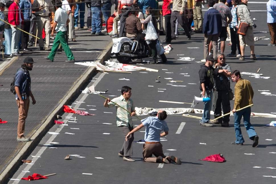Escena de la película 'Roma' en la Ciudad de México. (Notimex, archivo)