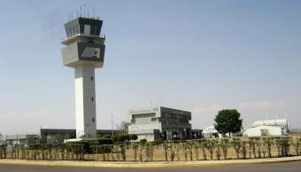 Aeropuerto Internacional de Puebla. (Twitter: @AeropuertosASA /Archivo)
