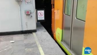 Metro suspende servicio en las estaciones Pantitlán y Agrícola Oriental de la Línea A. (Noticieros Televisa)