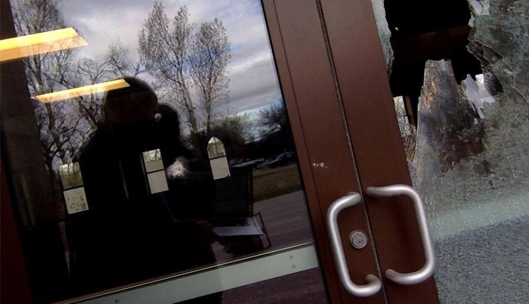 Agresión al Centro Islámico de Fort Collins. (Facebook: Islamic Center of Fort Collins - ICFC)