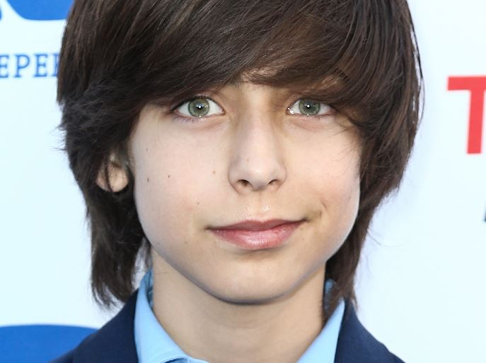Aidan Gallagher, actor (AP, archivo)