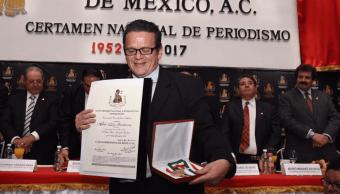 Alberto Tinoco Guadarrama, periodista de Noticieros Televisa. (@InformativoPART)