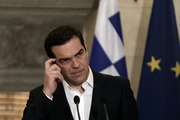 Alexis Tsipras, primer ministro griego. (Getty Images, archivo)