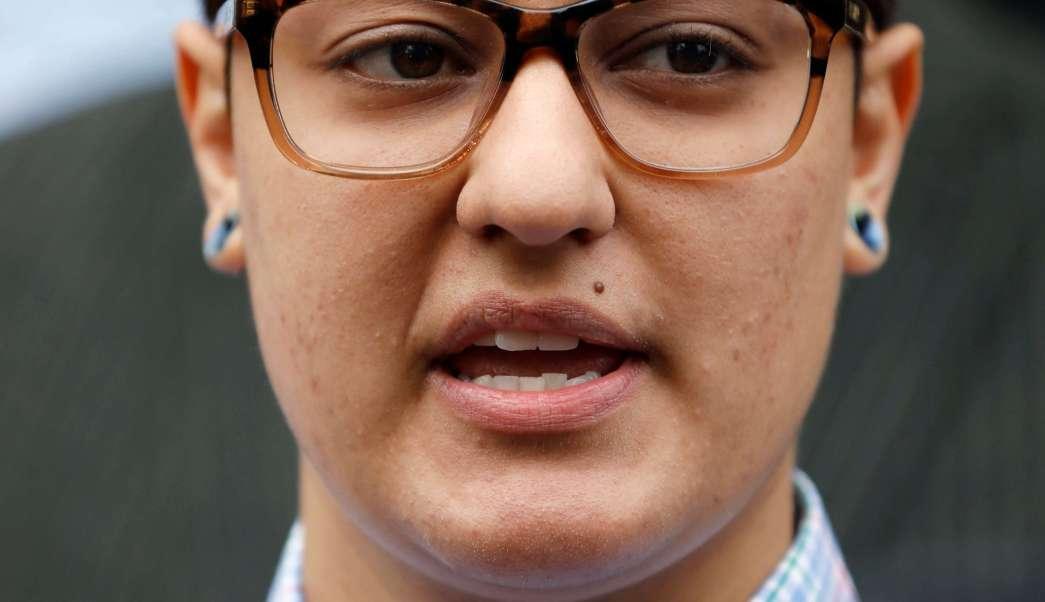 Daniela Vargas habla de las deportaciones de inmigrantes en Estados Unidos. (AP/archivo)