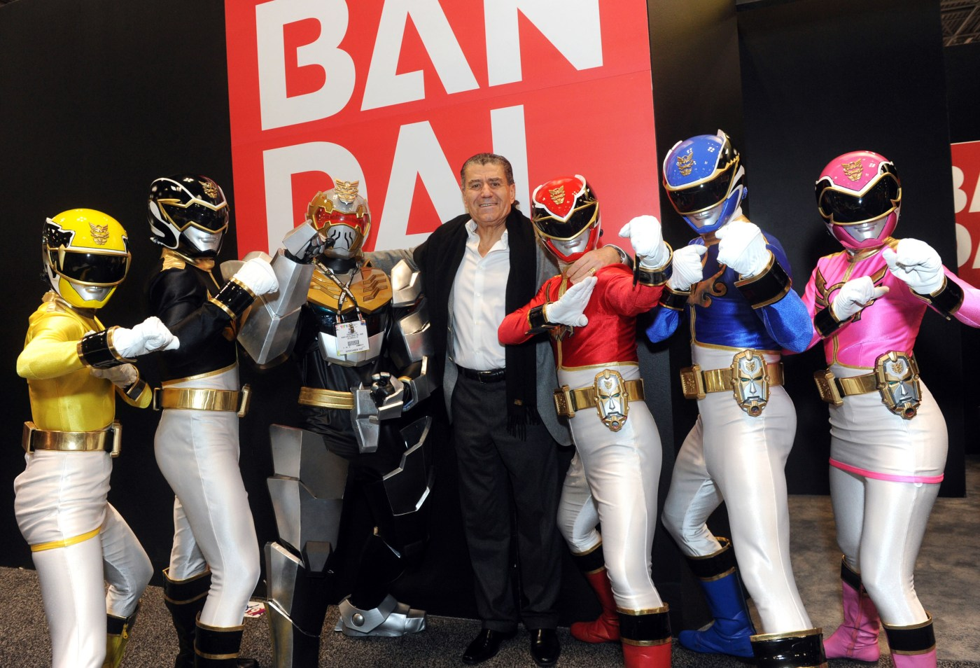 Haim Saban Power Rangers Orígenes
