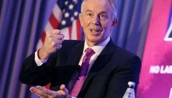 Fotografía que muestra al ex primer ministro británico Tony Blair (AP)