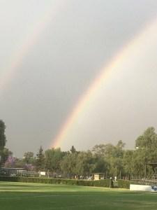El arcoíris está compuesto por siete colores. (Foto: Julieta Chilián)