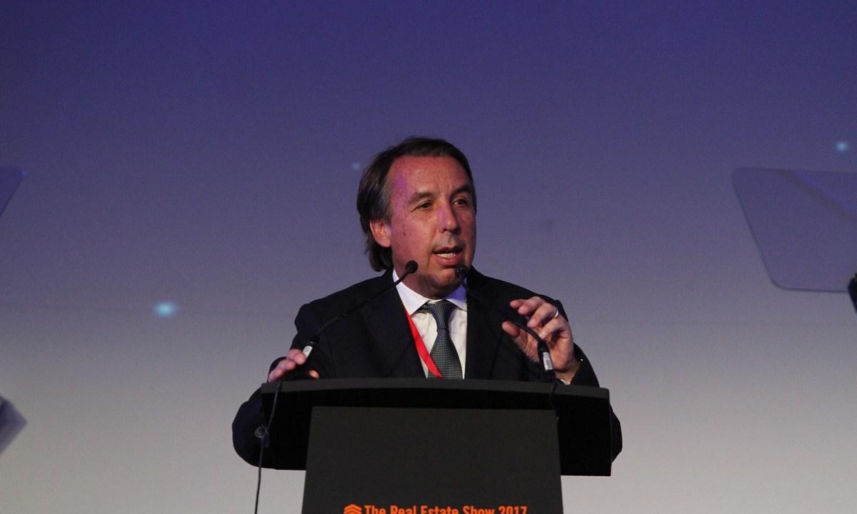 Emilio Azcárraga Jean participó en la Cena de Gala The Real Estate Show 2017; dijo que Televisa apuesta por la conectividad en México (NTX)