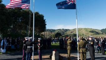 Autoridades de Estados Unidos y Nueva Zelanda participan en un evento; un diplomático estadounidense es expulsado por negarse a declarar por un delito (Facebook-US Embassy)