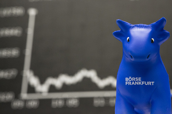Las acciones de la Bolsa de Frankfurt operan con pocos movimientos. (Getty Images)
