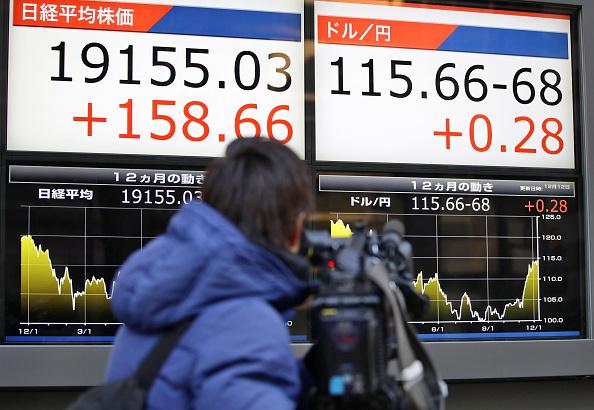 La Bolsa de Tokio cerró en positivo, apoyada en el discurso de Donald Trump. (Getty Images)