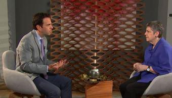 Carlos Loret entrevista a Janet Napolitano, exsecretaria de Seguridad Nacional de Estados Unidos (Noticieros Televisa)
