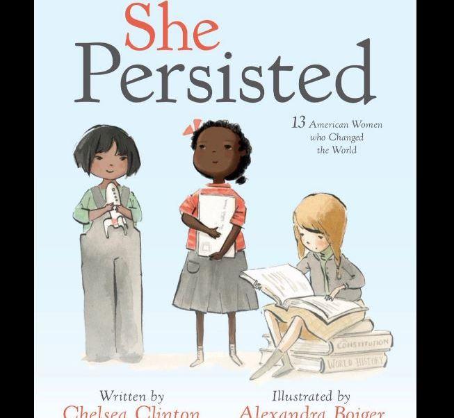 """Chelsea Clinton, anunció la publicación de su nuevo libro, titulado """"She Persisted"""". ( @kylegriffin1)"""