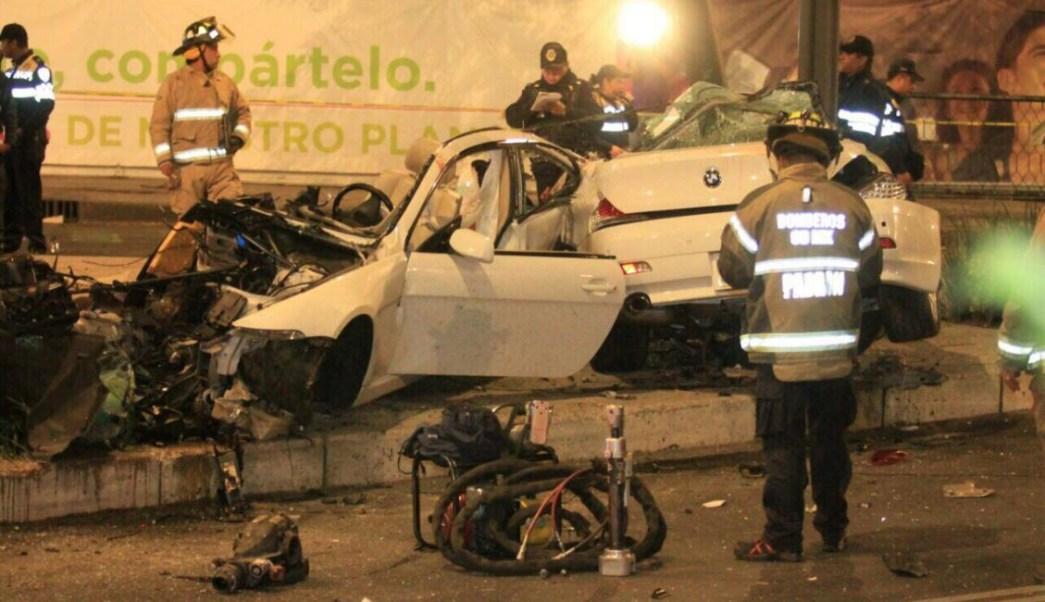 Video muestra momento del choque del BMW en Paseo de la ... - photo#33