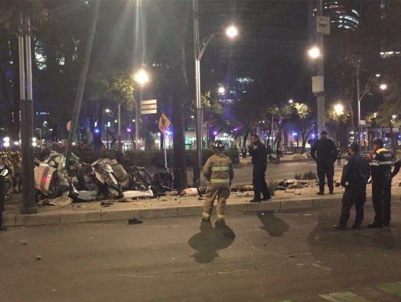 Accidente vehicular en Reforma y Lieja deja 4 muertos
