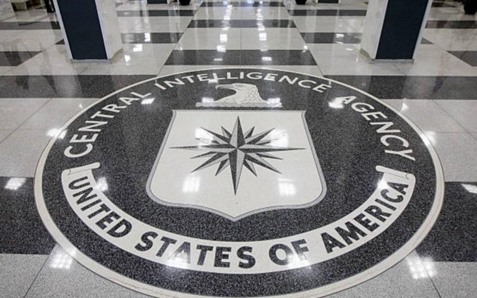 El vestíbulo del edificio original de la Agencia Central de Inteligencia (CIA) en Langley, Virginia, Estados Unidos (Getty Images)