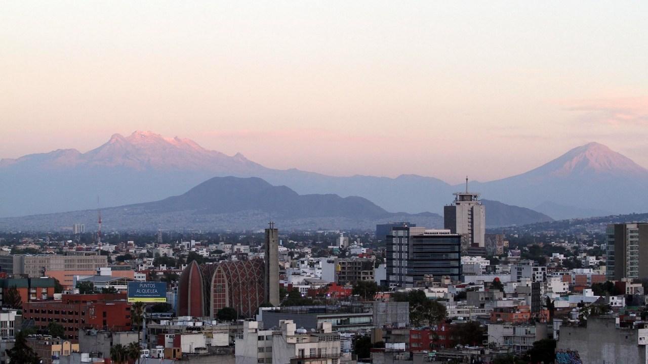 Panorámica del Valle de México; prevén una temperatura máxima de 30 grados centígrados. (Notimex)