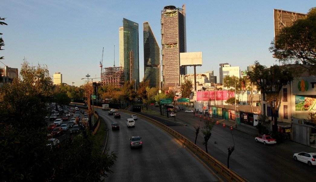 Panorámica de la Ciudad de México; pronostican temperaturas hasta de 22 grados centígrados. (Notimex)