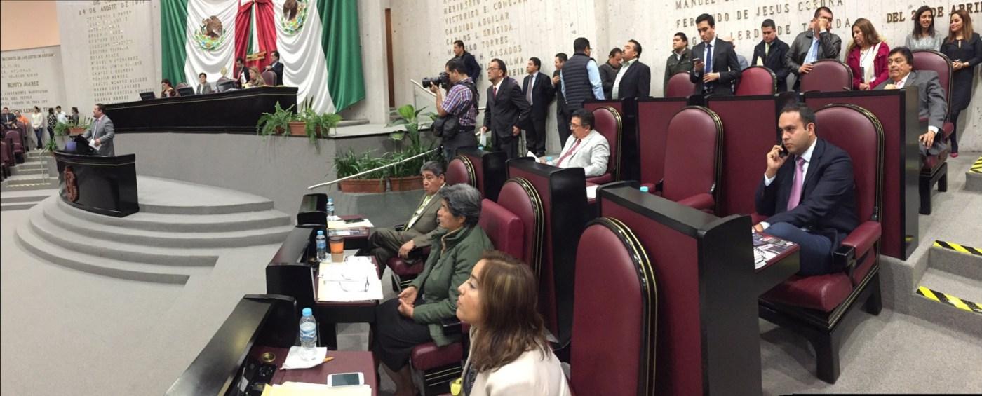Diputados de Veracruz votan el dictamen de reestructuración de deuda del estado; no alcanza la mayoría (Twitter @DiputadosVerPRI)