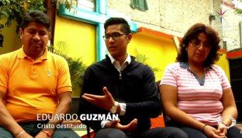 Erick Eduardo Guzmán Ramírez se casó por el civil hace siete años; su familia no lo sabía. (Noticieros Televisa)