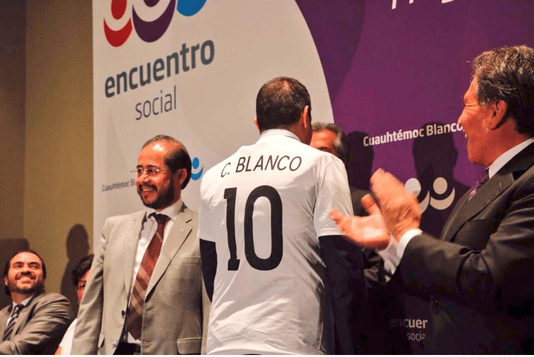 Cuauhtémoc Blanco, alcalde de Cuernavaca. (@CuauhtemocBco)