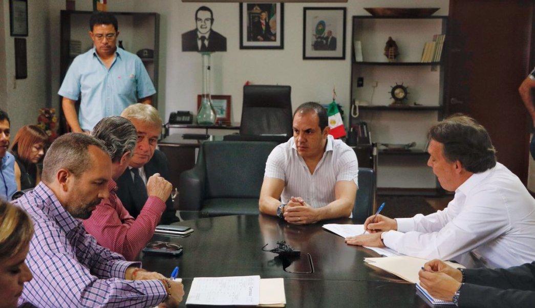 """""""Yo ya no le voy a dar importancia al comisionado… voy a seguir peleando"""", asegura el alcalde de Cuernavaca, Cuauhtémoc Blanco. (witter: @CuernavacaGob)"""