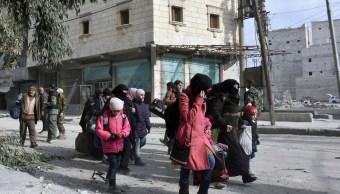 Desplazados por la guerra en Siria (AP, archivo)