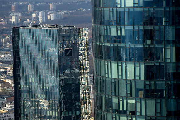 Edificio central del Deutsche Bank, en Alemania. (Getty Images)