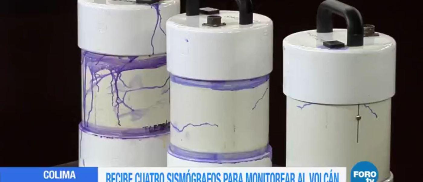Donan 4 sismógrafos a Colima