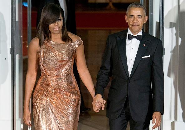 El expresidente de Estados Unidos, Barack Obama, y exprimera dama, Michelle Obama.