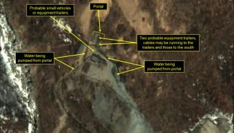 El sitio web 38North analiza imágenes satelitales de Corea del Norte.
