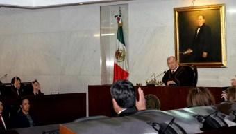El magistrado presidente de la TSJ capitalino, Edgar Elías Azar, renunció a su cargo. (Notimex/Archivo)