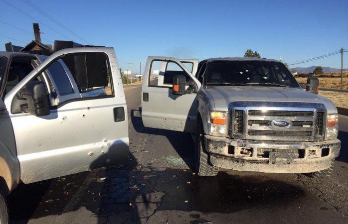 Enfrentamiento entre policías y hombres armados deja 7 muertos en Chihuahua (Noticieros Televisa)
